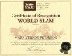 NWTF World Turkey Slam Certificate