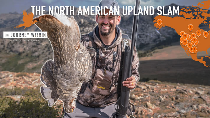 Mark Peterson completed Upland Slam